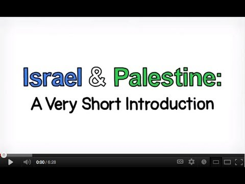 Israeli Palestinian conflict explained: an animated introduc