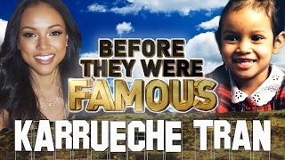 KARRUECHE TRAN - Before They Were Famous - Restraining Order ?