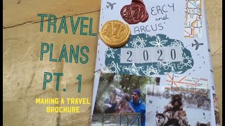 Travel Plans Pt. 1 : Making a travel brochure based on my next trip