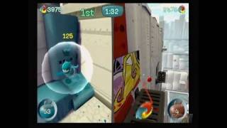 de Blob Nintendo Wii Video - 2-Player Split