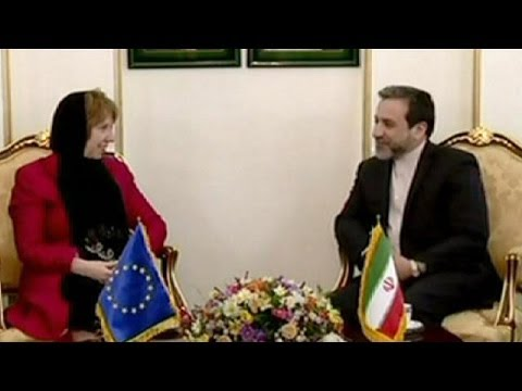 Catherine Ashton est en Iran