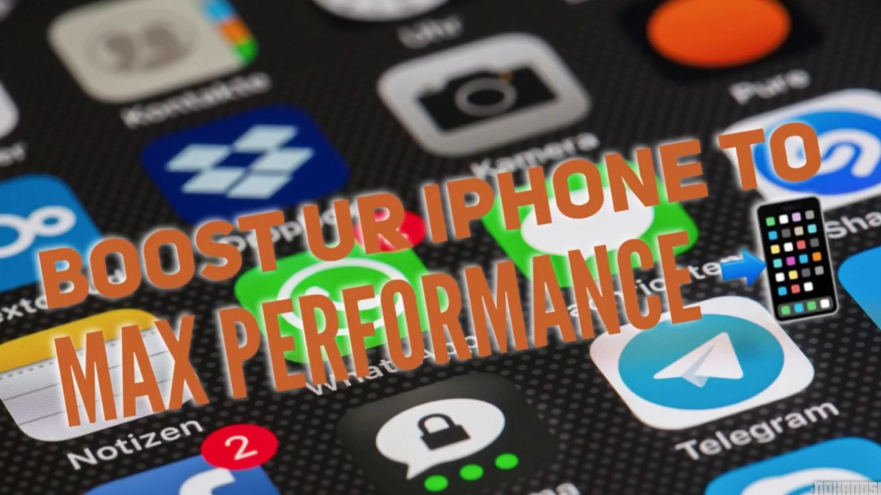 How to clear cache memory in iphone 7