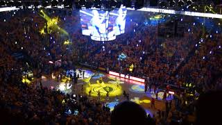 2018-05-20 Game 3 Oracle Arena - GSW Warriors vs Rockets - Opening - 2