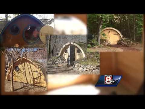 Maine company creates unique hobbit holes