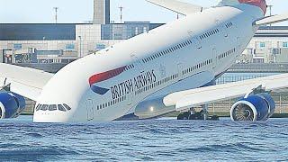 Этот Пилот Сделал Невозможное! Невероятные Посадки Самолетов