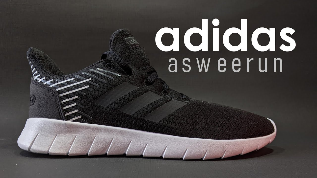 Memorizar bolso golpear  adidas asweerun F36339 - Running Shoes - YouTube