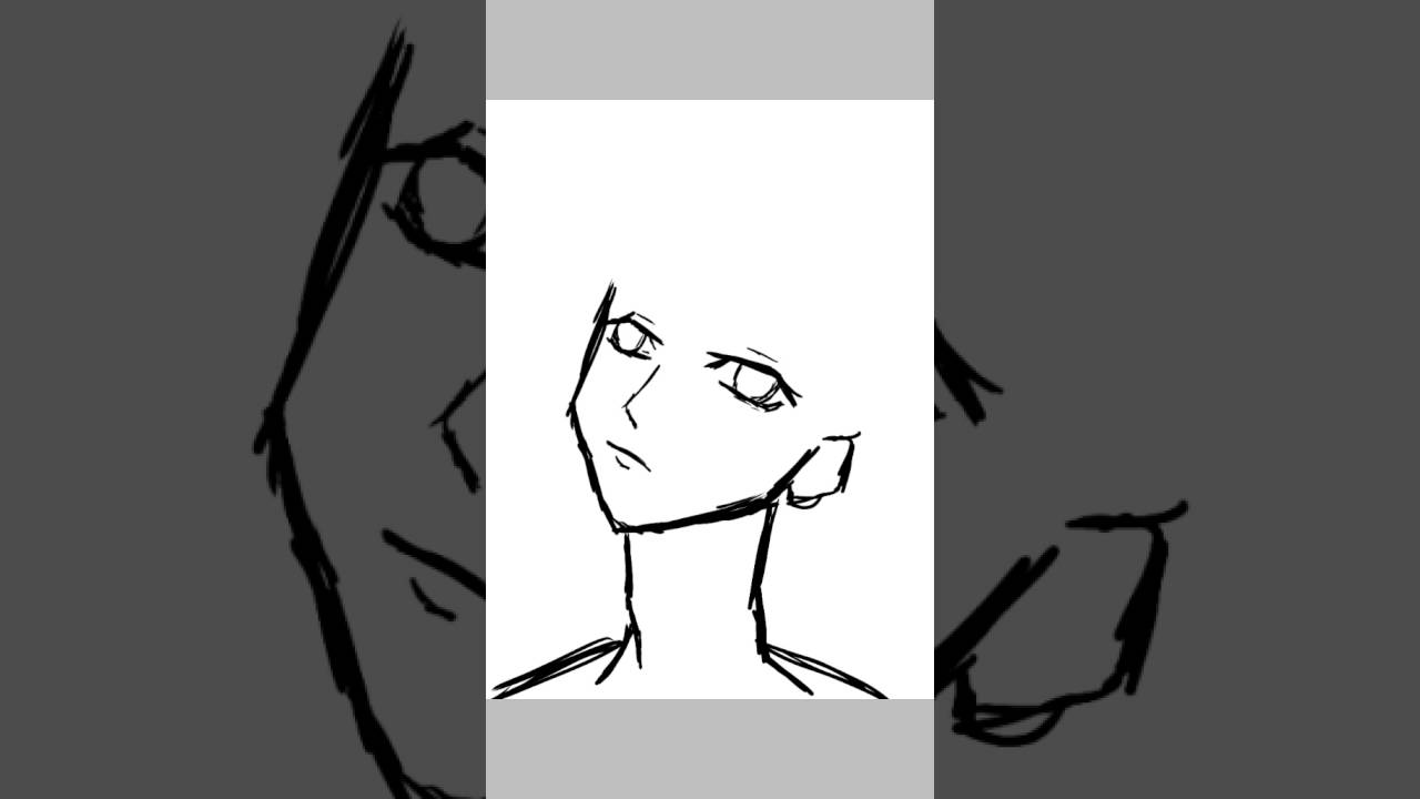 Line Drawing Boy : How to draw a chibi boy youtube