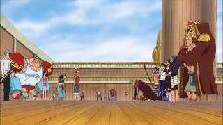 Warriors Asks To Join The Straw Hat Crew | One Piece 744