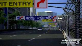 PS2 Gran Turismo 3 - Insane Corvette Glitch TOKYO R246