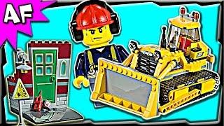 Lego City Construction Bulldozer 60074 Stop Motion Build Review