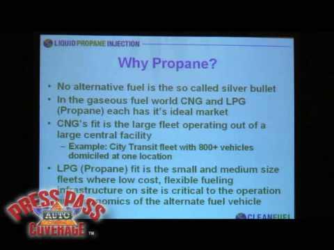 Propane Engine Fuel Summit: Curtis Donaldson - CleanFUEL USA