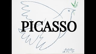 Picasso: 1933-1971 Chronological Slideshow of Pablo Picasso Later Paintings in 4K UHD!