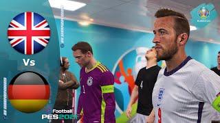 PES 2021, EURO 2020 ottavi di finale • Inghilterra vs Germania