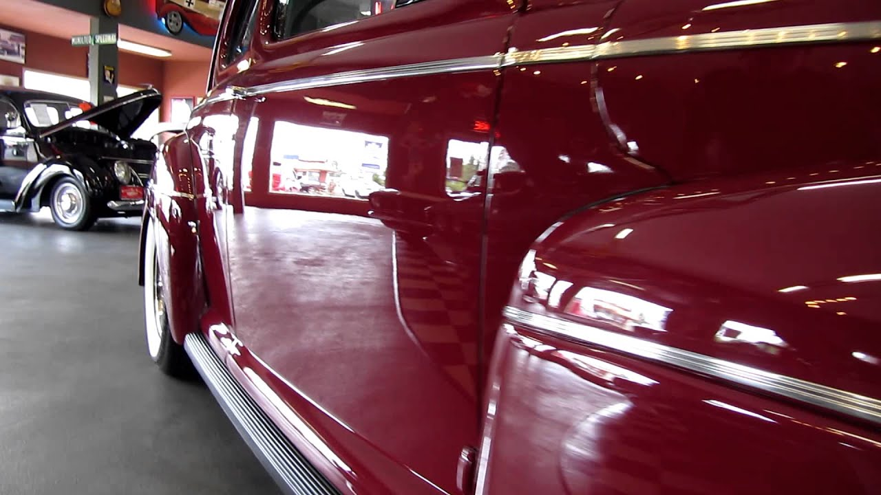 1941 Ford 2 Door Business Coupe Beautiful Restoration Youtube