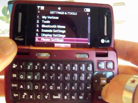 master reset verizon lg vx9200 env3 mov youtube rh youtube com LG VX9100 Unlock Code LG VX9800