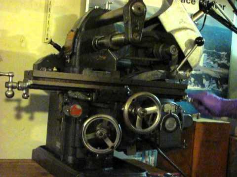 Atlas Press Clausing Craftsman Horizontal Milling Machine Mfc Bench