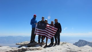 Hiking Mt Whitney - July 4th 2015