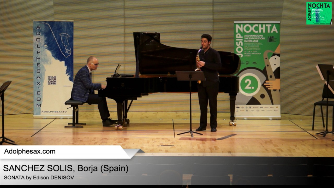 Sonata by Edison DENISOV – Borja SANCHEZ SOLIS (Spain)