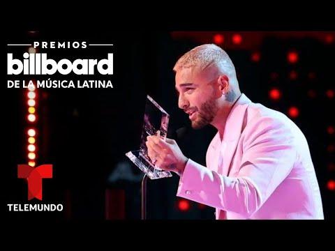 Maluma agradece el reconocimiento que recibió su fundación en los Premios Billboard 2020 0
