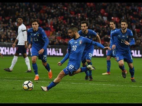 Highlights: Inghilterra-Italia 1-1 (27 marzo 2018)