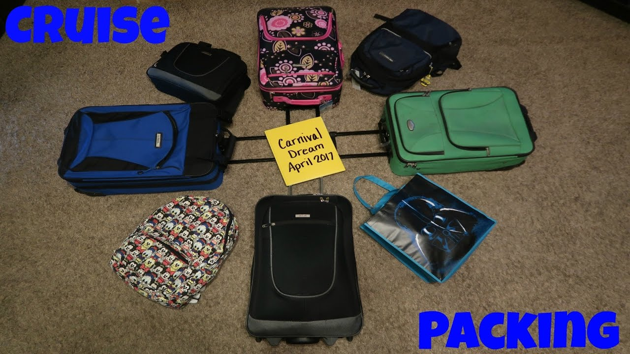 Ng For A Cruise What We Pack How