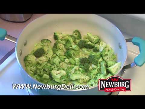 Chicken Broccoli Divan prepared by Chef Mario #Newburg Deli