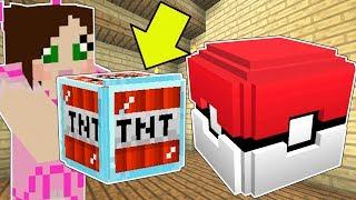 Minecraft: POKEMON LUCKY BLOCK!!! (POKEMON ABILITY WEAPONS!) Mod Showcase