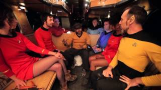 Star Trek goes to Camp Tipsy