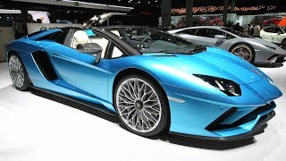 Эксклюзивные и роскошные автомобили на мотор-шоу в США