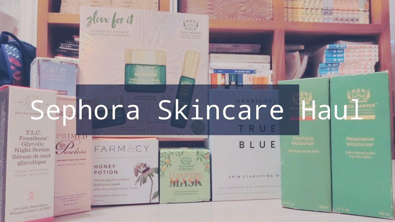 膚淺 | Sephora Skincare Haul 保養品開箱!