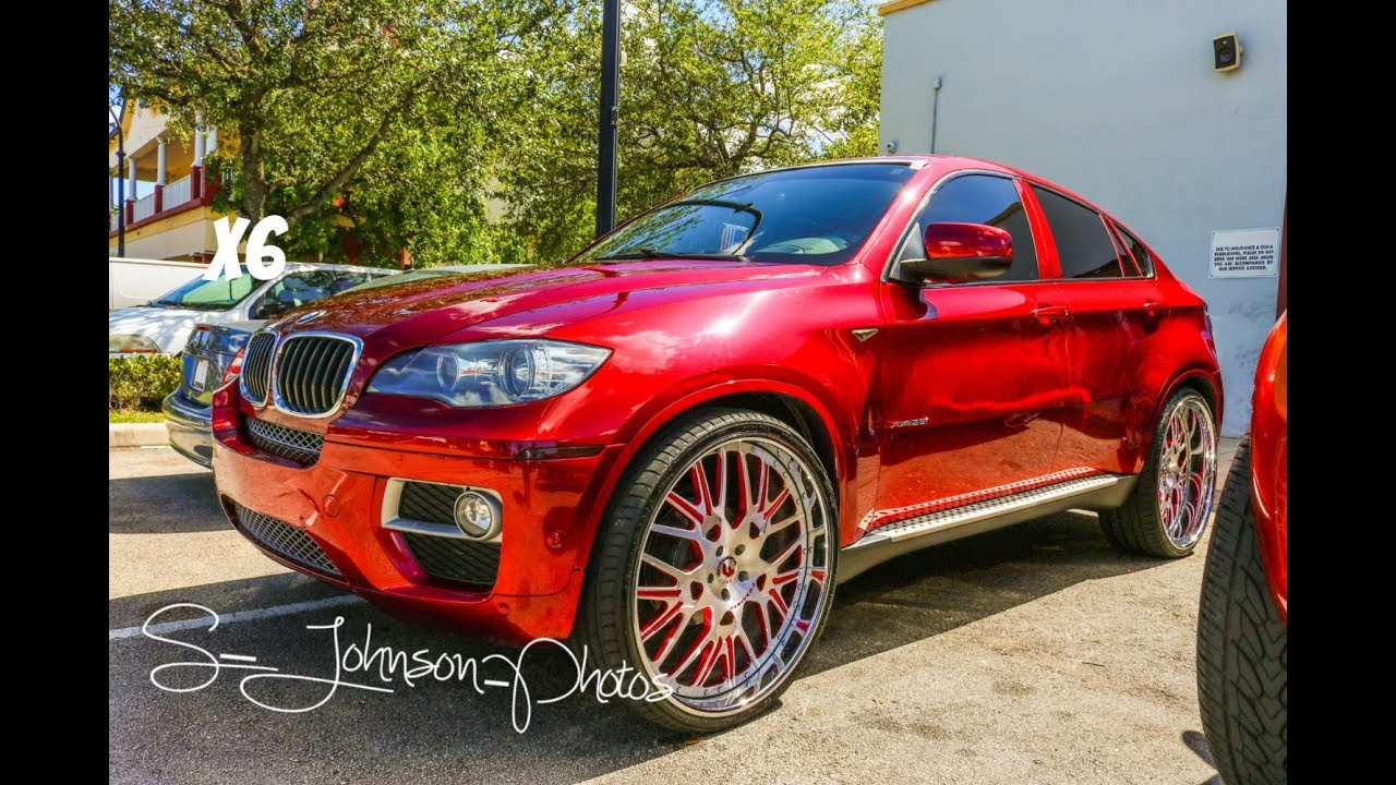 Candy Red Bmw X6 On Forgiato Wheels In Hd Must See Youtube