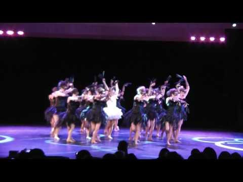 Black Swan - 1er prix jazz avancé NFL danse 2017 - Spotlight Dance studio