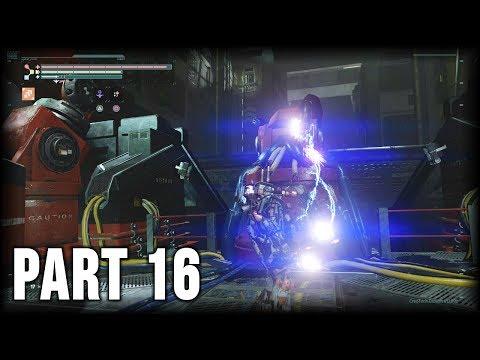 The Surge - 100% Walkthrough Part 16 [PS4] – Central Production B 2nd Visit (NG+)
