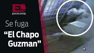 'El Chapo' corto el brazalete con el que era monitoreado / Vianey Esquinca