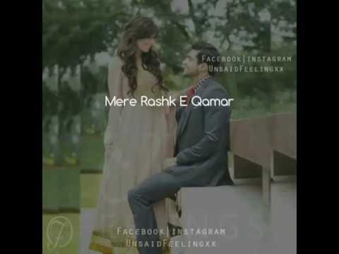 Mere Rashke Qamar New Version With Lyrics