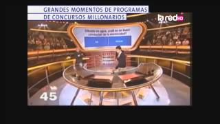 Grandes momentos de programas de concursos millonarios