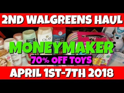 2nd Walgreens MONEYMAKER Haul April...