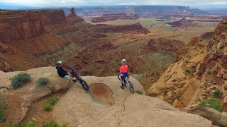 Biking in Canyonlands National Park