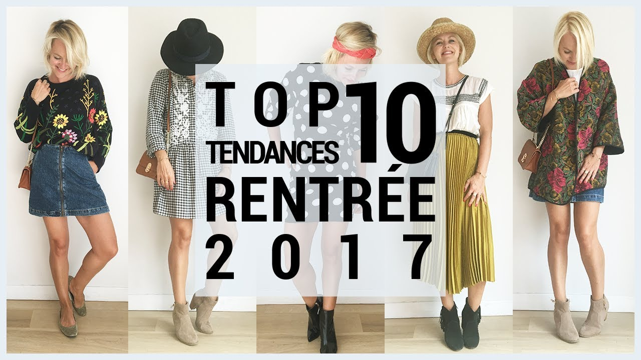 Top 10 tendances Automne Hiver 2017-2018 Haul mode et Try on 7 looks  tendances e66e1b81802