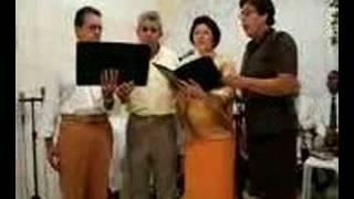 QUARTETO NA IGREJA ASSEMBLÉIA DE DEUS