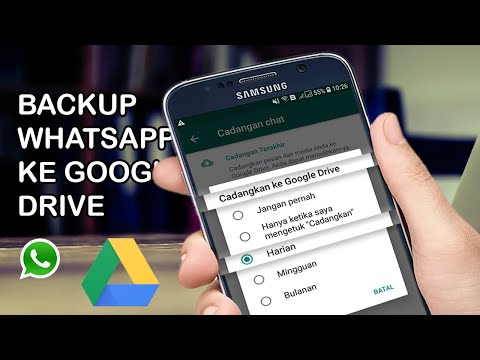Cara Backup WhAtsApp Ke Google Drive | Cara Mencadangkan Chat WA Ke Google Drive