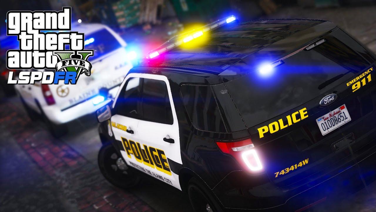 GTA 5 - LSPDFR #78 | San Antonio Police Dept