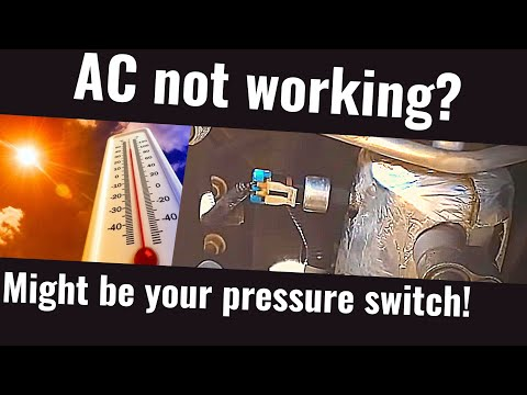 Replace AC Pressure Switch on a 2001-2006 Chevrolet Suburban