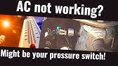 A/c low & high pressure switches - YouTube Vintage Air Trinary Switch Wiring Diagram on