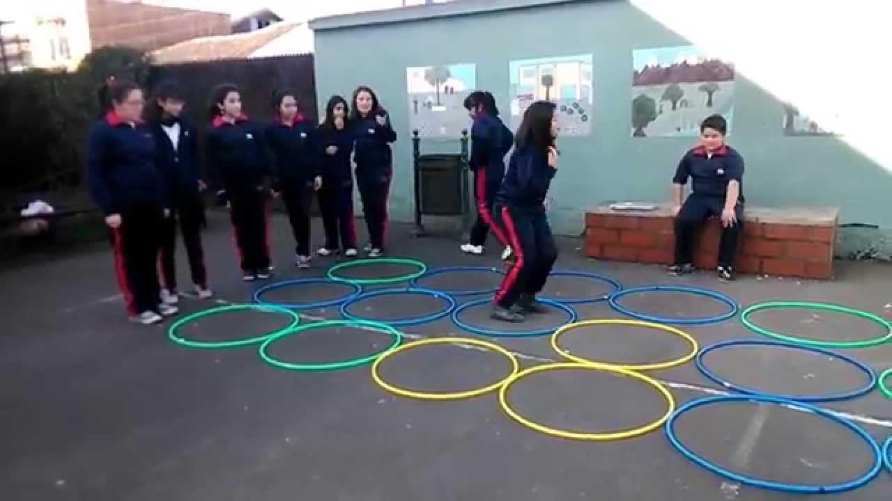 Juegos Educacion Fisica Campo Minado Youtube