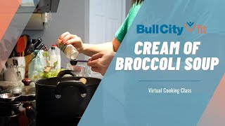 CREAM OF BROCCOLI SOUP | a quick family meal by Bull City Fit