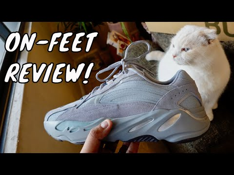 YEEZY 700 V2 'HOSPITAL BLUE' ON-FEET REVIEW... AND AN INCREDIBLY SAD LOSS. :(