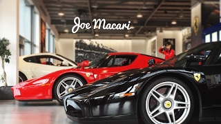 One showroom, 40 Ferrari's- Joe Macari