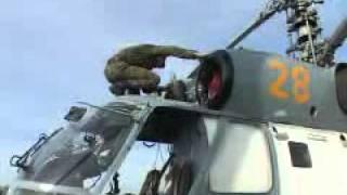 Вертолетчики Балтийского флота проводят учения(Видео телеканала Россия-24, июнь 2011, Балтийский флот., 2011-06-22T07:48:01.000Z)