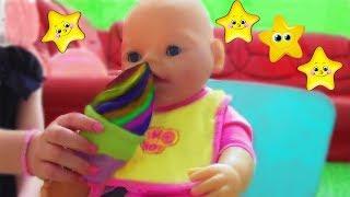 Что ЛЮБИТ КАТЯ? Играем с куклами Baby Doll